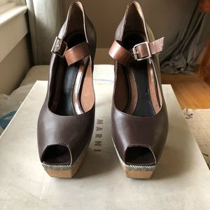 Marni Open Toe Pumps